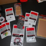 Everything from Radioshack to build the Circuit